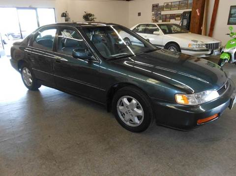 1997 Honda Accord for sale at Sutherlands Auto Center in Rohnert Park CA