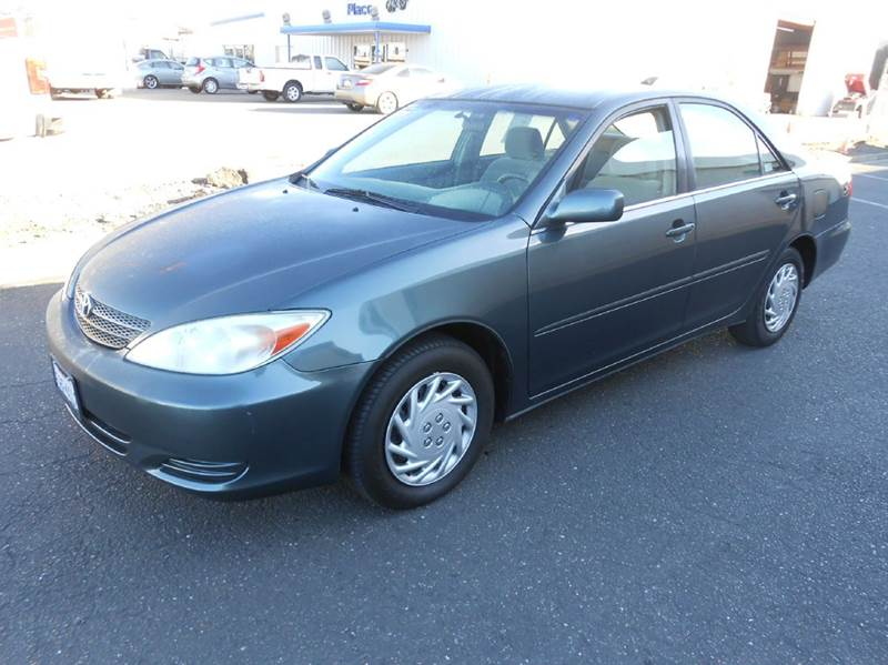 2003 Toyota Camry for sale at Sutherlands Auto Center in Rohnert Park CA