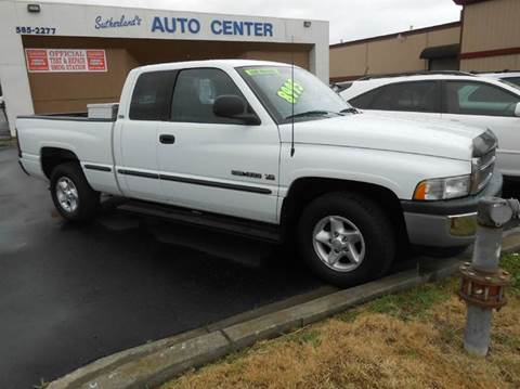 1998 Dodge Ram Pickup 1500 for sale at Sutherlands Auto Center in Rohnert Park CA