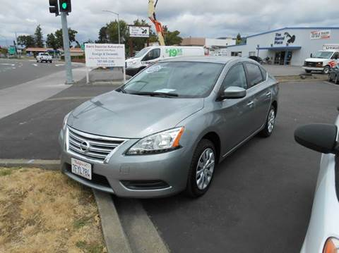 2014 Nissan Sentra for sale at Sutherlands Auto Center in Rohnert Park CA