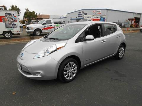 2013 Nissan LEAF for sale at Sutherlands Auto Center in Rohnert Park CA