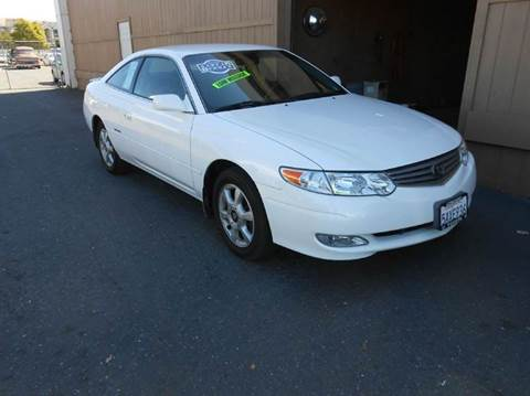 2003 Toyota Camry Solara for sale at Sutherlands Auto Center in Rohnert Park CA