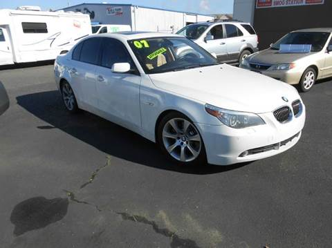 2007 BMW 5 Series for sale at Sutherlands Auto Center in Rohnert Park CA