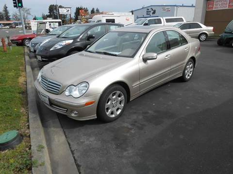 2005 Mercedes-Benz C-Class for sale at Sutherlands Auto Center in Rohnert Park CA