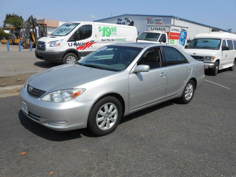 2002 Toyota Camry for sale at Sutherlands Auto Center in Rohnert Park CA