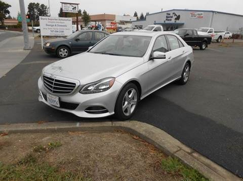 2015 Mercedes-Benz E-Class for sale at Sutherlands Auto Center in Rohnert Park CA