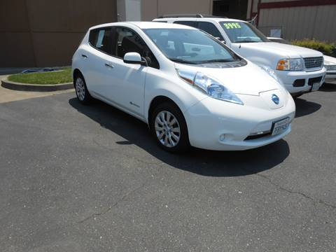 2014 Nissan LEAF for sale at Sutherlands Auto Center in Rohnert Park CA