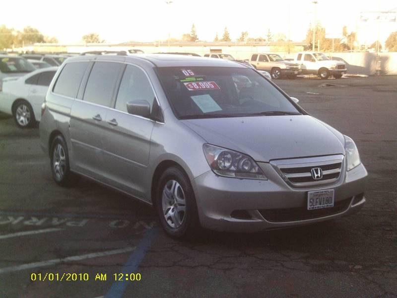 2005 Honda Odyssey 4dr Ex L Mini Van W Leather In Stockton