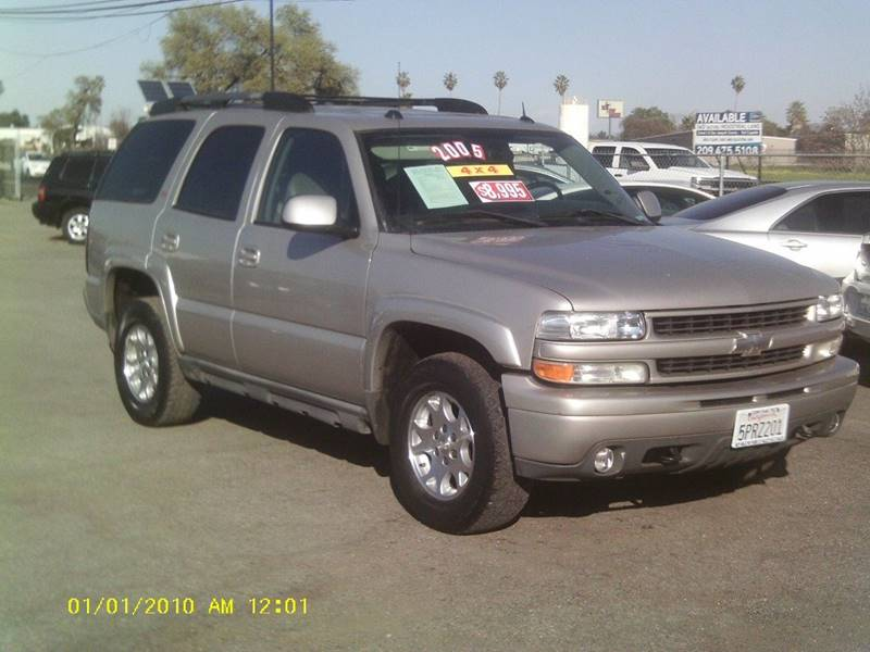 2005 Chevrolet Tahoe Z71 4wd 4dr Suv In Stockton Ca Valley
