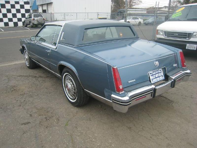 1985 Cadillac Eldorado BIARITZ 2 DOOR In Stockton CA