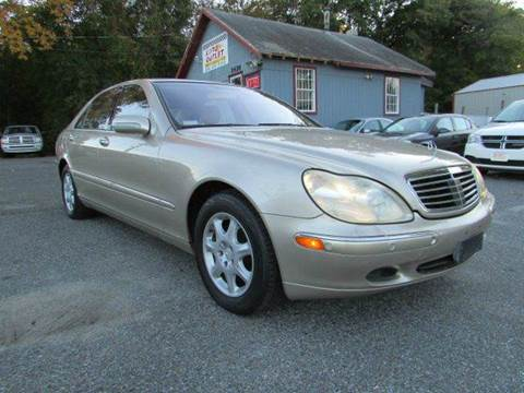 2001 Mercedes-Benz S-Class for sale at Auto Outlet Of Vineland in Vineland NJ