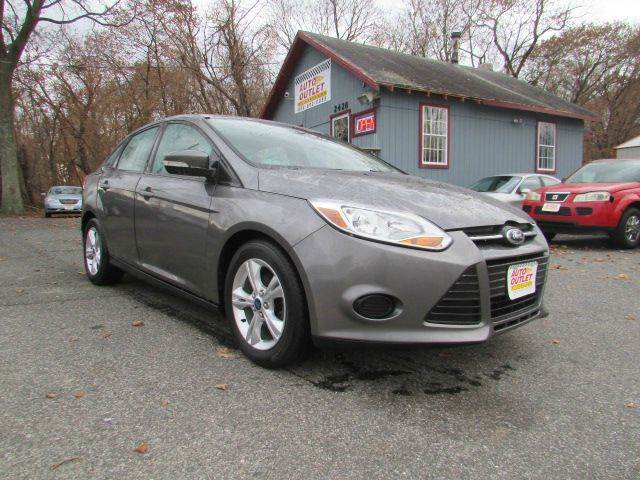 2013 Ford Focus for sale at Auto Outlet Of Vineland in Vineland NJ