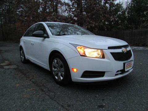 2014 Chevrolet Cruze for sale at Auto Outlet Of Vineland in Vineland NJ