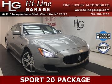 2014 Maserati Quattroporte for sale in Charlotte, NC