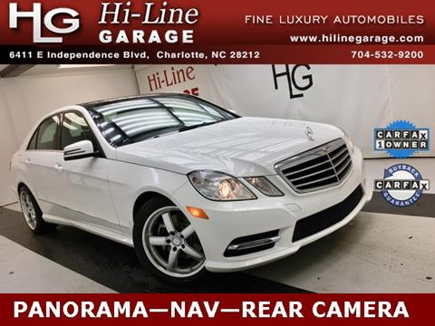2013 Mercedes-Benz E-Class for sale in Charlotte, NC