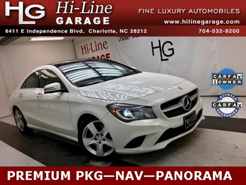 2015 Mercedes-Benz CLA for sale in Charlotte, NC