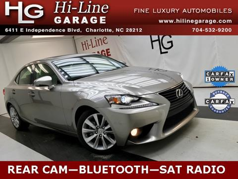 2014 Lexus IS 250 for sale in Charlotte, NC