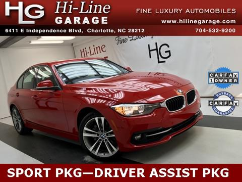 2016 BMW 3 Series for sale in Charlotte, NC