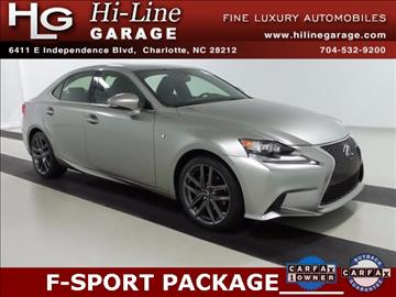 2015 Lexus IS 250 for sale in Charlotte, NC