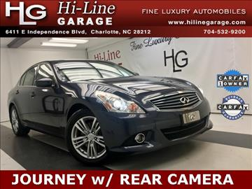 2011 Infiniti G25 Sedan for sale in Charlotte, NC
