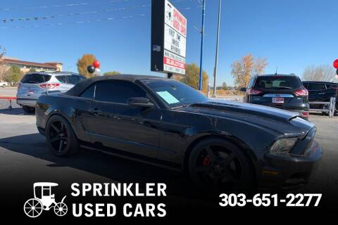 Sprinkler Used Cars >> 2013 Ford Mustang For Sale In Longmont Co