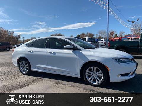 Sprinkler Used Cars >> Chrysler For Sale In Longmont Co Sprinkler Used Cars