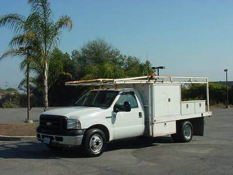 2006 Ford F-350 Super Duty Utility for sale in Freedom CA