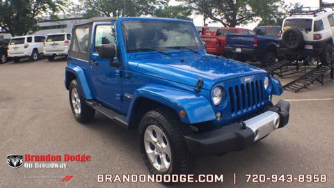 2015 Jeep Wrangler for sale in Littleton, CO