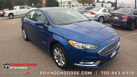 2017 Ford Fusion Hybrid for sale in Littleton, CO