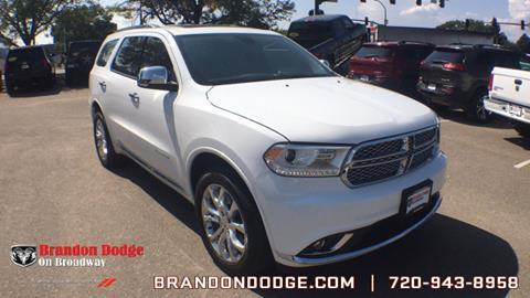 2017 Dodge Durango for sale in Littleton, CO