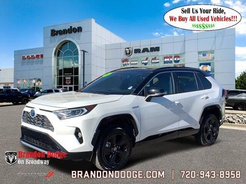 2019 Toyota RAV4 Hybrid for sale in Littleton, CO