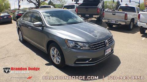 2017 Volkswagen Passat for sale in Littleton, CO