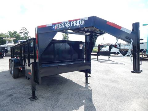 2021 TEXAS PRIDE 7X16X3 GOOSENECK SPECIAL for sale at Park and Sell - Trailers in Conroe TX