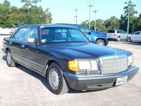 1991 Mercedes Benz 350 Class For Sale In Conroe, TX