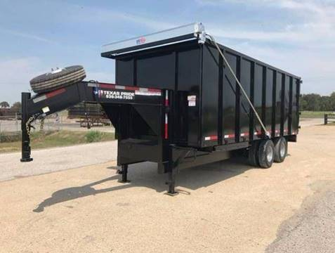 2019 TEXAS PRIDE 8x22x8 Dump Trailer 26k GVWR for sale in Conroe, TX