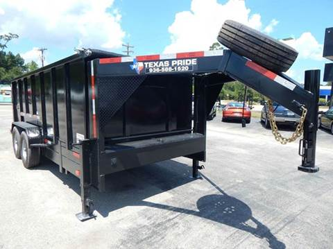 2021 TEXAS PRIDE 16' GN Special 14K GVWR for sale at Park and Sell - Trailers in Conroe TX