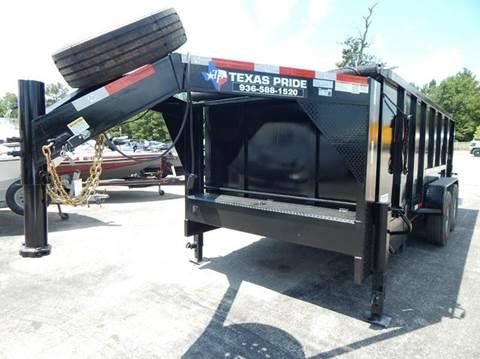 2020 TEXAS PRIDE 16' GN Special 14K GVWR