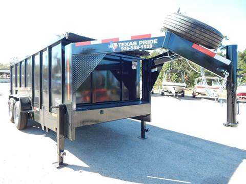2021 TEXAS PRIDE 16' GN Special 16K GVWR for sale at Park and Sell - Trailers in Conroe TX