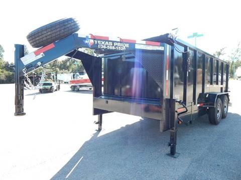 2020 TEXAS PRIDE 16' GN Special 16K GVWR