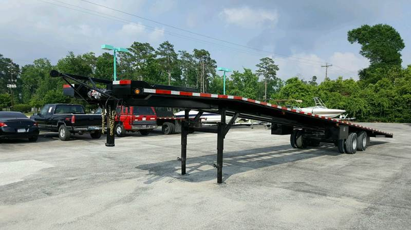 2018 Texas Pride 51 3 4 Car Hauler Wedge In Conroe Tx Park And Sell
