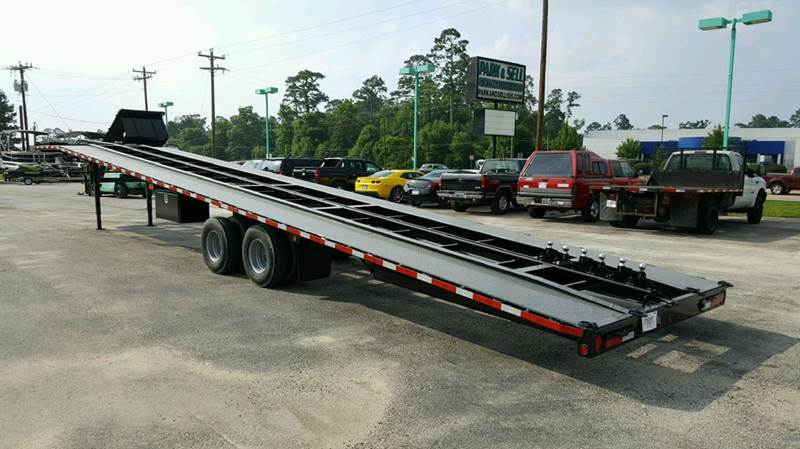 2019 Texas Pride 51 3 4 Car Hauler Wedge In Conroe Tx Park And Sell