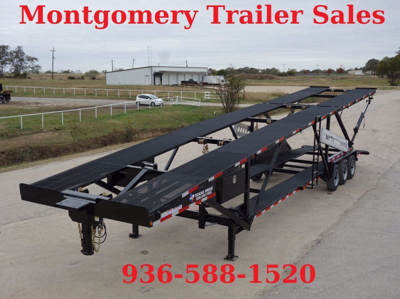 2019 texas pride 8 x47 five car double deck 5 car hauler in