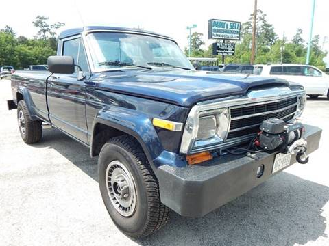1987 Jeep J-20 Pickup for sale in Conroe, TX