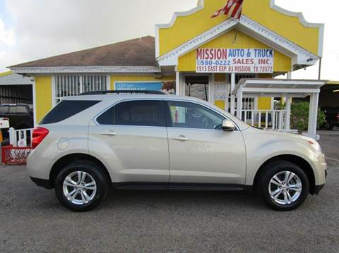 2011 Chevrolet Equinox for sale at Mission Auto & Truck Sales, Inc. in Mission TX