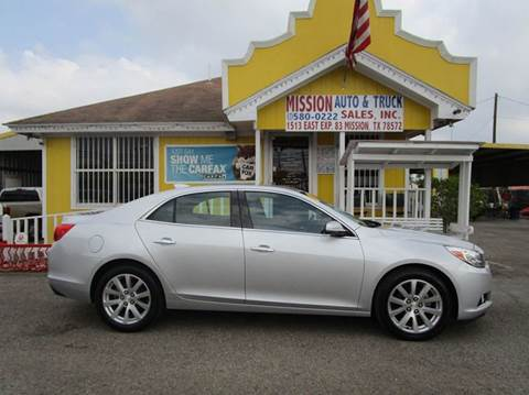 2016 Chevrolet Malibu Limited for sale at Mission Auto & Truck Sales, Inc. in Mission TX