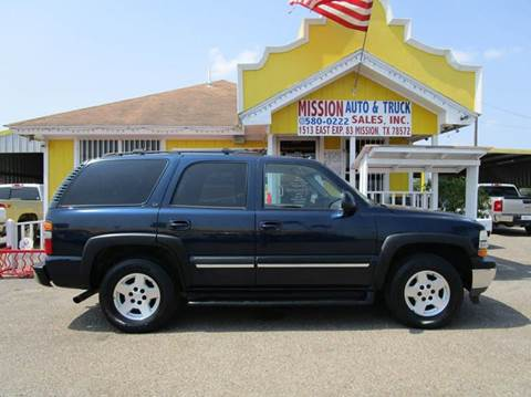 2005 Chevrolet Tahoe for sale at Mission Auto & Truck Sales, Inc. in Mission TX