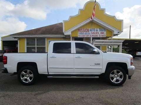 2014 Chevrolet Silverado 1500 for sale at Mission Auto & Truck Sales, Inc. in Mission TX