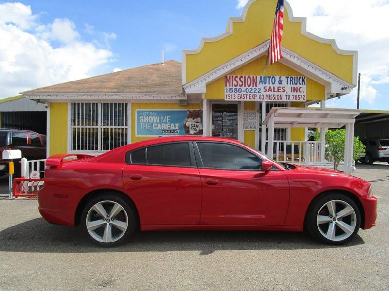 2012 Dodge Charger for sale at Mission Auto & Truck Sales, Inc. in Mission TX
