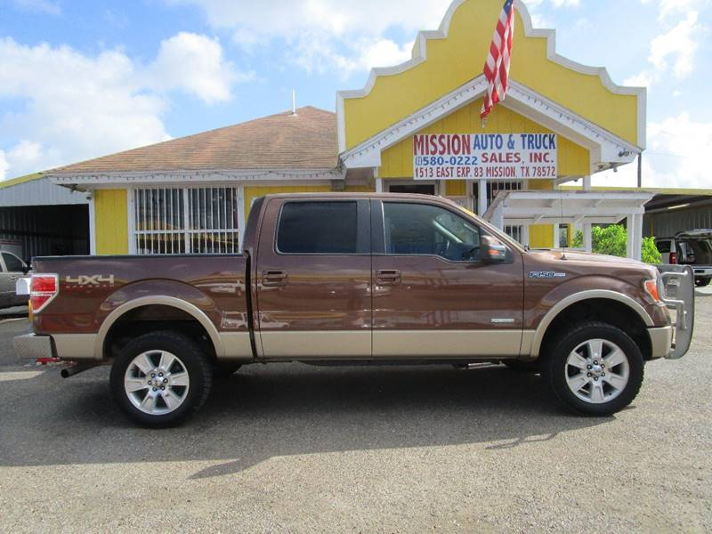 2012 Ford F-150 for sale at Mission Auto & Truck Sales, Inc. in Mission TX