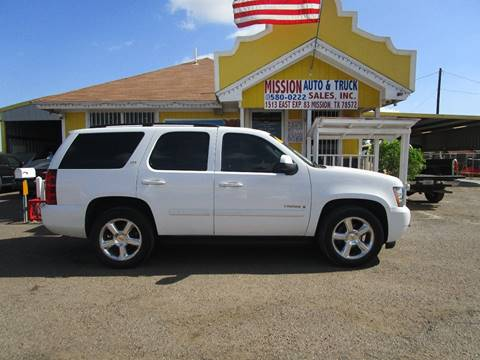 2007 Chevrolet Tahoe for sale at Mission Auto & Truck Sales, Inc. in Mission TX